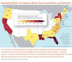 louisiana map global warming overwhelming risk rethinking flood insurance in a world of rising