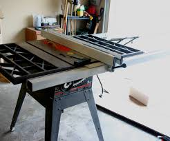 delta table saw for sale retrofitting a delta t2 fence to a craftsman table saw 7 steps