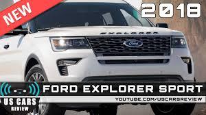 review ford explorer sport 2018 ford explorer sport review interior exterior