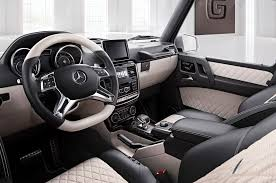 mercedes benz jeep matte black interior mercedes benz designo division offers custom g wagens for a price