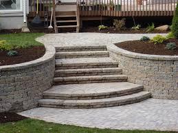 Granite Stairs Design Connecticut Granite Steps Concrete Steps Landscape Steps U0026 Stairs