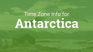 Map Of Us Time Zones by Time Zones In Antarctica