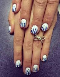 winter nails create your own gorgeous snowy nails women daily