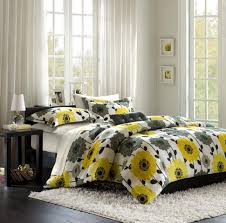 Gray And Yellow Color Schemes Bedroom Cool Gray White And Yellow Bedroom Black Color