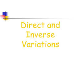 direct and inverse ppt download