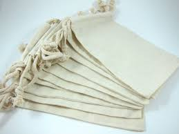 muslin favor bags 10 large muslin bags cotton pouches 5 by 8 inch for jewelry