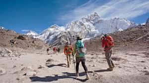 Map Of Everest Everest Base Camp Trek Hike Everest Travel With Rei