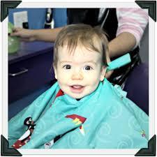 first haircut mikal u0026 josh