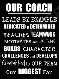 character quote sports our coach proof sports decor pinterest coach gifts