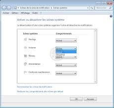 windows 7 icone bureau disparu disparition de l icône de réglage du volume du dans le systray