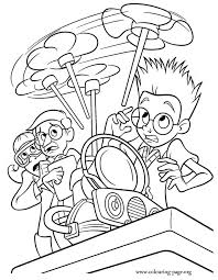 meet robinsons coloring pages kids coloring