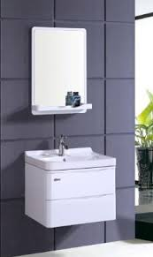 Wall Mount Bathroom Vanity Cabinets by White Pvc Bathroom Vanity Cabinet P7206 From Bathroom Vanity Cabinet