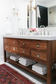 Sink Bathroom Cabinet by Bathroom Vanities With Tower Storage Double Vanity With Center
