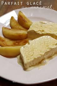 brouillon de cuisine parfait glacé au caramel salé et pommes poêlées mes brouillons