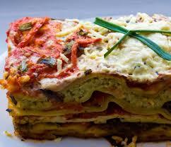 vegetable lasagna ricotta nut cheese marinated tofu