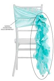 curly willow chair sash curly willow chair sash turquoise new design cv linens