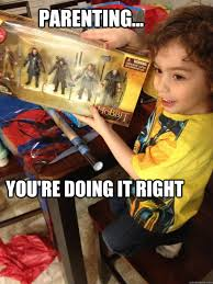 Totoy Brown Memes - parenting you re doing it right hobbit quickmeme
