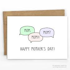 funny mother u0027s day card mom boutique card stock and cards