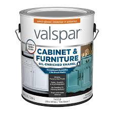 valspar kitchen cabinet paint white valspar cabinet and furniture semi gloss enamel interior paint 1 gallon