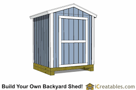 Shed Backyard 6x6 Shed Plans 6x6 Storage Shed Plans Icreatables Com