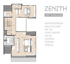 zenith floor plan the honor บ านหร the honor