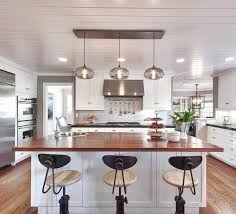 Mini Pendant Lights Over Kitchen Island by Decorating Cabinets In Contemporary Kitchen Plus Counter Stools