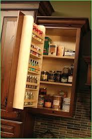 Kitchen Cabinet Door Storage Door Mounted Spice Rack Expatworld Club