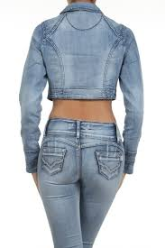 light blue cropped jean jacket acid wash cropped denim jacket ladies light blue denim jacket