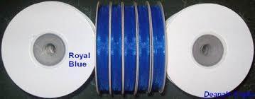 bulk ribbon spools 21 organza ribbon spool bulk lot sheer edged 1 4 x 25 yds mix or