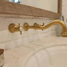 Whitehaus Whkbcr3 9101 Deck Mount by Unlacquered Brass Gooseneck Faucet 100 Images Discover