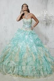 aqua quinceanera dresses quinceanera dress 26782 aqua gold size 10