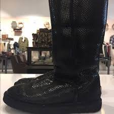 ugg boots veterans day sale 66 ugg shoes ugg australia black snakeskin boots from