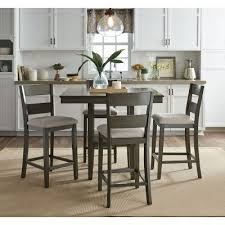 Counter Height Dining Room Furniture by Loft 5 Piece Counter Height Dining Set Standard Furniture