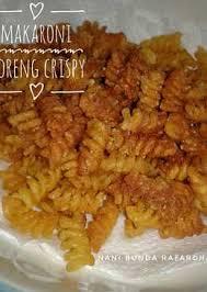 bumbu makaroni cikruh 27 resep macaroni pedas crispy enak dan sederhana cookpad