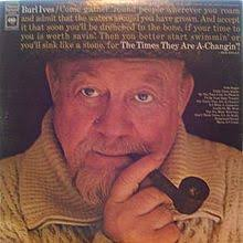 the times they are a changin burl ives album