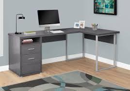 Monarch Computer Desk Computer Desk 80 L Grey Left Or Right Facing Monarch