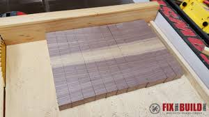 How To Build An End Table How To Make An End Grain Cutting Board Fixthisbuildthat
