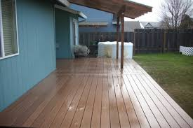 Deck With Patio by Composite Deck With Patio Cover Deck Masters Llc Portland Or