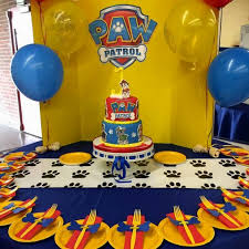 unique paw patrol party decorations image