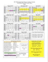 district calendar yough district