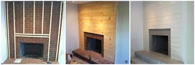 How To Cover Brick Fireplace diy u2026for reals tiek built homes