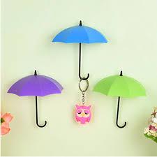 aliexpress com buy 3pcs lot umbrella shaped creative key hanger