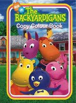 coloring activity books backyardigans wiki fandom