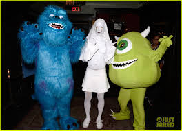 Monster Inc Halloween Costumes Kat Graham U0027s U0027monsters Inc U0027 Costume Is So Good Photo 887828