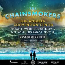 the chainsmokers announce biggest show ever at los angeles