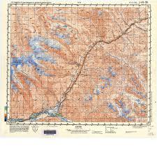 Tajikistan Map Russian Army Maps Of The Pamir Meta Murghab Eco Tourism