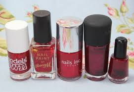 my nail polish collection reds love leah