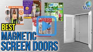 magic mesh garage door top 7 magnetic screen doors of 2017 video review