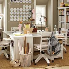 stylish ideas for teenage study room designs with cool decoration