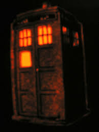 Tardis Halloween Stencil by My Carved Pumpkin Gallery By Category